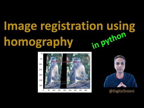 30 - Image registration using homography in openCV