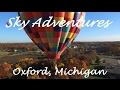 Sky Adventures Hot Air Balloon Rides Michigan