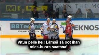 Raimo Summasen Huudot Tomi Lämsälle (HIFK - Jokerit) 23.2.2013