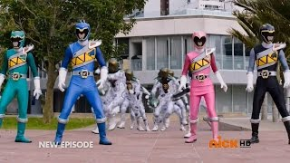 Power Rangers Dino Charge - Double Ranger, Double Danger - Power Rangers vs Clone Rangers