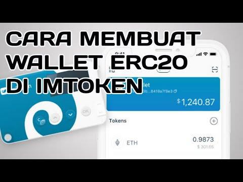CARA MEMBUAT WALLET ERC20 DI IMTOKEN TERBARU 2019 MENGGUNAKAN HP ANDROID DENGAN MUDAH