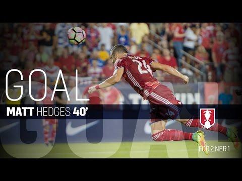 Lamar Hunt U.S. Open Cup Final: FC Dallas Vs. New England Revolution: Matt Hedges Goal