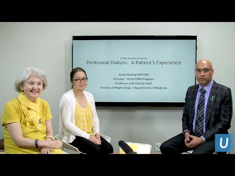 Peritoneal Dialysis: A Patient's Experience | Anjay Rastogi, MD | UCLAMDChat