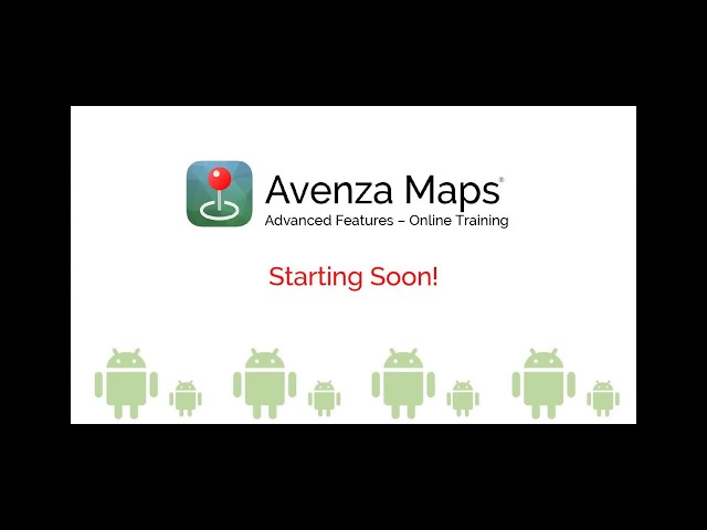 Avenza Maps - Folders, Collections & Import Options (Android)