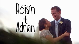 The wedding of Róisín &  Adrian