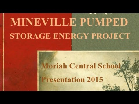 Mineville NY pumped storage hydroelectric