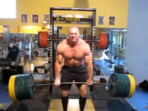 Deadlitt 380kg 4 Reps Raw No Belt Youtube