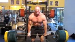 Deadlitt 380kg-4 reps Raw,no belt