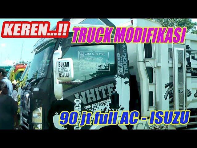 Keren..!! Truck DUMP Modifikasi habis 90juta..Full AC Solo Raya Truck Community