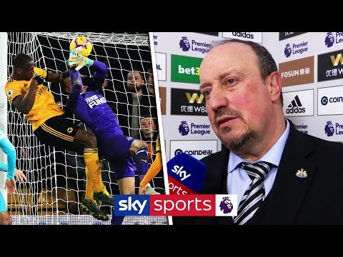 Was Dubravka fouled for Wolves equaliser? | Rafa Benitez post match interview | Wolves 1-1 Newcastle
