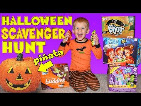 Surprise Halloween Scavenger Hunt!!