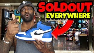 WTF Jordan 1 Game Royal SOLDOUT EVERYWHERE!! Did You Cop Or Zzzz?
