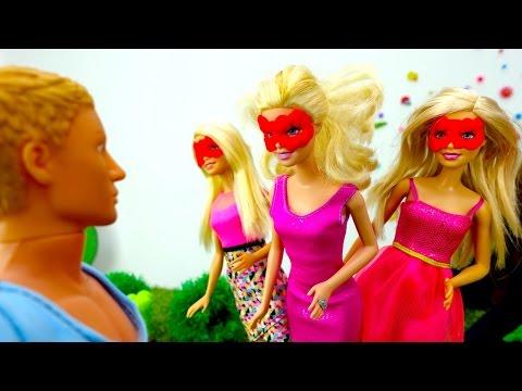 Барби - Веселые игры для девочек, видео и задания