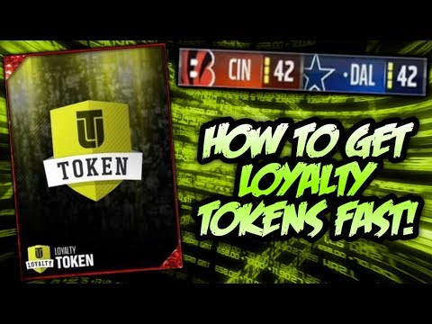 HOW TO GET LOYALTY TOKENS FASTER! EARN REWARDS FOR MADDEN 18! | MADDEN 17 ULTIMATE TEAM