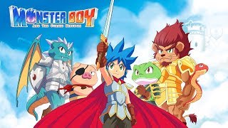 Monster Boy and the Cursed Kingdom Gameplay Nintendo Switch