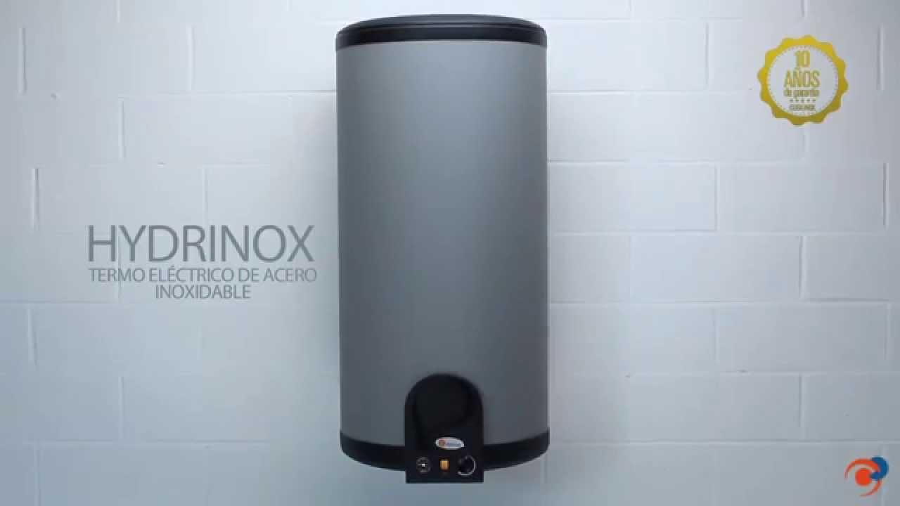 Hydrinox termos el ctricos de acero inoxidable de domusa - Termo de agua electrico ...