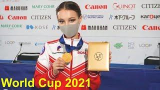 МОМЕНТ ИСТИНЫ Анна Щербакова Чемпионат мира 2021 по фигурному катанию