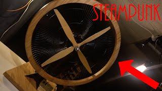 Making a Steampunk desk fan