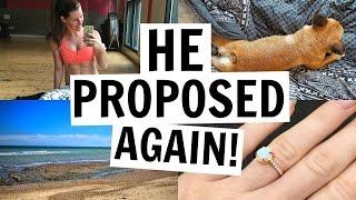 HE PROPOSED, AGAIN!! | WEEKLY VLOG 30