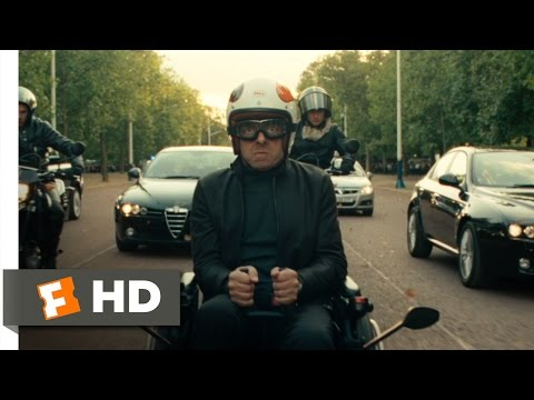 Johnny English Reborn (7/10) Movie CLIP - Wheelchair Chase (2011) HD