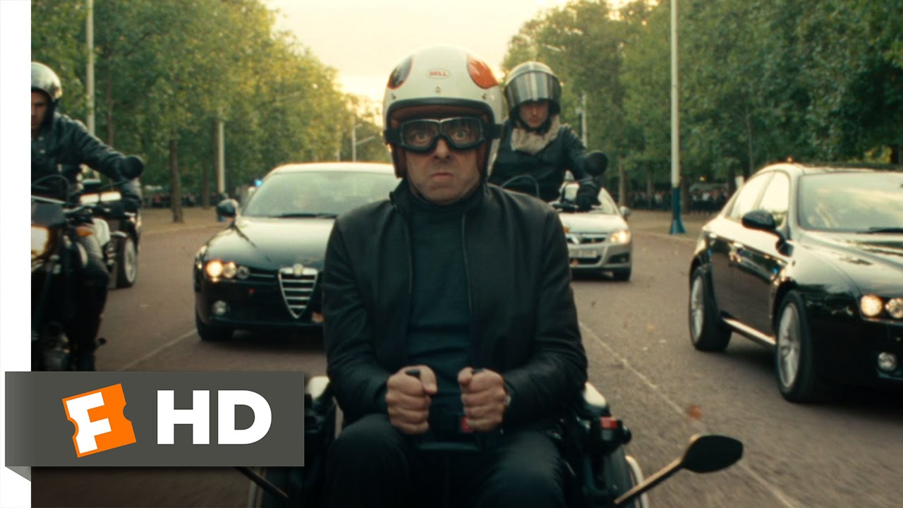 Download Johnny English Reborn (7/10) Movie CLIP - Wheelchair Chase (2011) HD