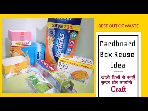 DIY Custom Makeup Drawer Organizer/Divider || Best Out of Waste || Its makeover tym
