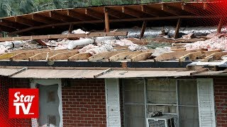 Severe weather damages buildings in South Carolina