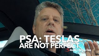 PSA: Teslas are not perfect