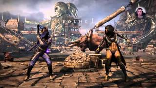 Kandarr (Mournful Kitana) vs HoneyBee (Swarm Queen D