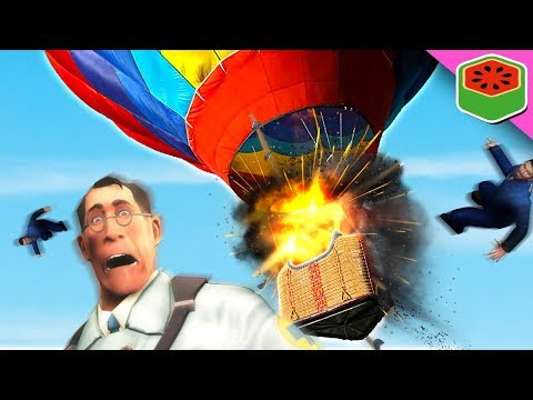 HOT AIR BALLOON PARTY! | Trouble in Terrorist Town