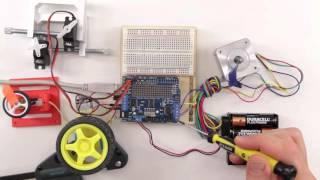 видео Motor Shield
