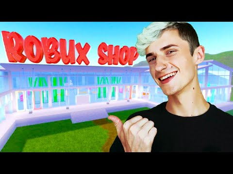 I Opened a Free Robux Shop (Roblox)