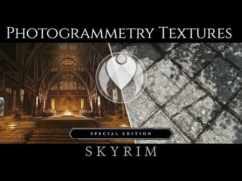 NEW PHOTOGRAMMETRY TEXTURES: SKYLAND - WHITERUN | Skyrim SE Ultra ENB Graphics
