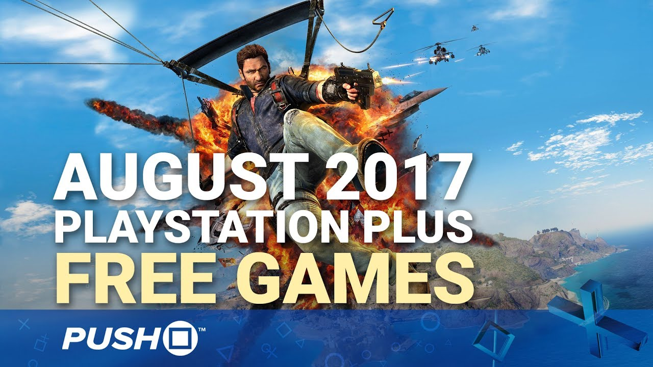 august ps plus free games 2017