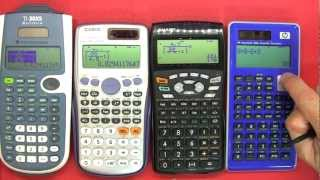 VBlogMag #16 - Scientific Calculator review / buyers guide / comparison(A review of the TI-30XS MultiView Calculator vs. Casio fx-991ES Plus vs. Sharp EL-W535HT vs. HP SmartCalc 300s. --------------------- Click