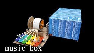 DIY. 셀프 오르골을 만들기 [How to make music box]