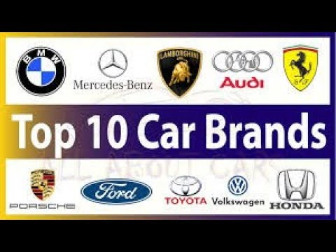 Top 10 Car Brands Of The World 2018 Ranking