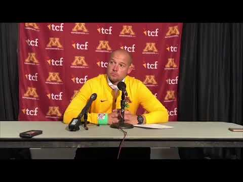 Press Conference: P.J. Fleck on Loss at Maryland