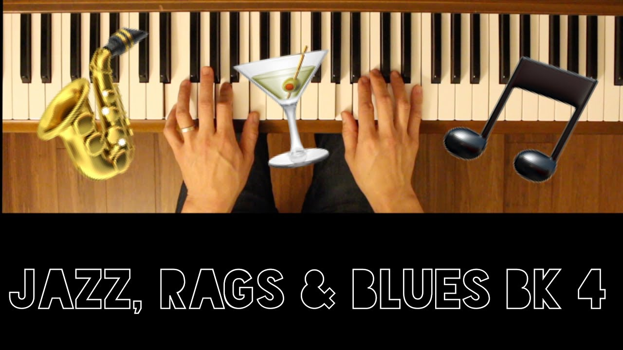 Last Chance Blues Jazz Rags Bk 4 Intermediate Piano Tutorial