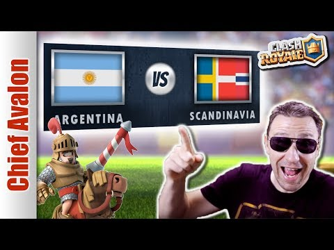 MGL WORLDS TOP 32: ARGENTINA vs SCANDINAVIA - Clash Royale eSports