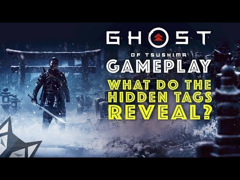 GHOST OF TSUSHIMA Gameplay - What do Playstation's Hidden Tags reveal about the game?