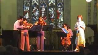 Weber Clarinet Quintet ConTempo Quartet Emma Johnson
