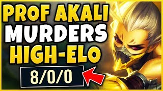 THIS IS WHY AKALI IS 100% PERMA-BANNED! INSANE OUTPLAYS + ESCAPES! - League of Legends