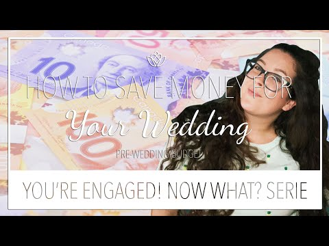 How to save money FOR your wedding | Pre-wedding Budget | Tips and tricks