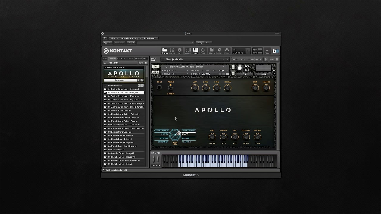 Apollo: Cinematic Guitars