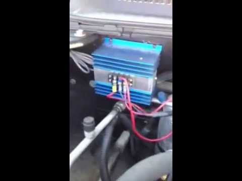 Mechman 340 & 6 phase GM alternator with external adjustable voltage regulator - YouTube : external voltage regulator wiring diagram  - jdmop.com