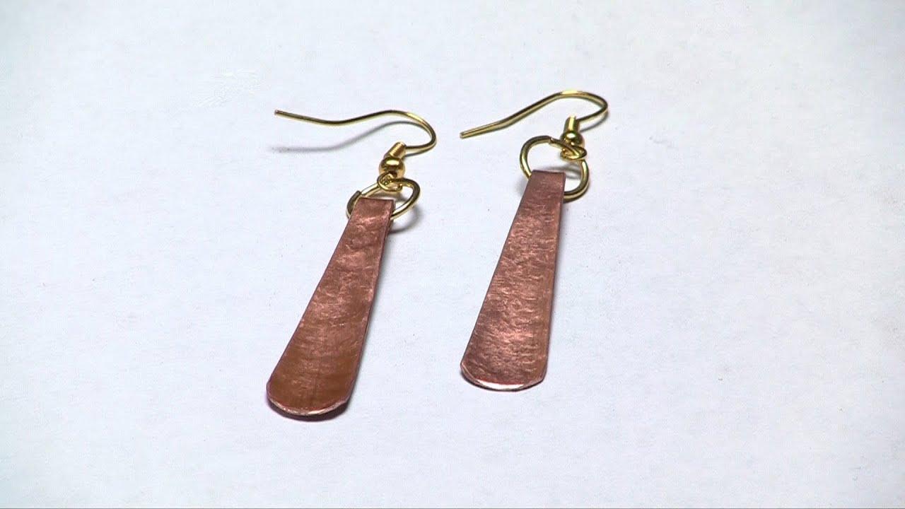 Copper Earrings Simplified
