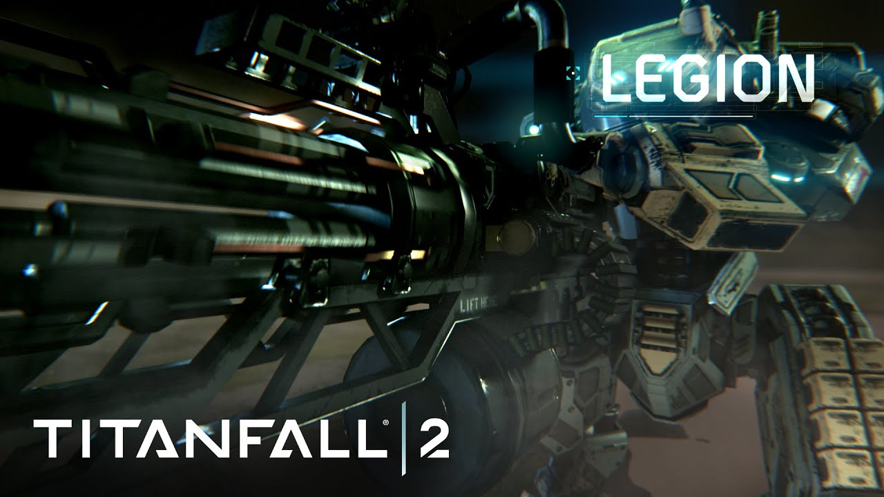 legion wallpaper : titanfall