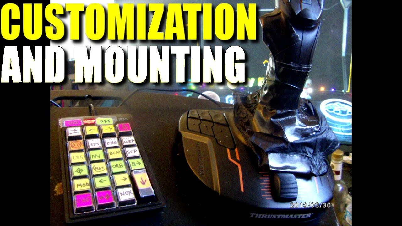 Thrustmaster T16000m FCS How to Mount, Customize, and Adjust Guide