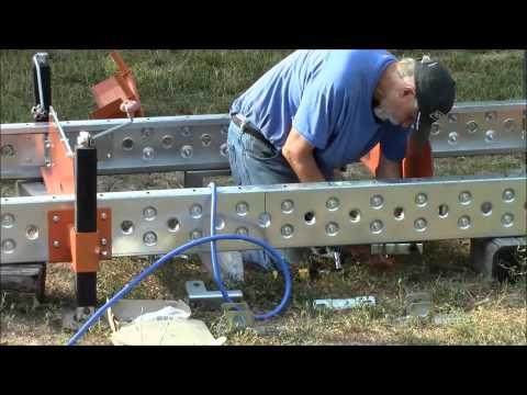 The A, B, C's of assembling your LumberPro HD36 log deck